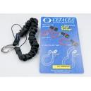 Cetacea Coil Tether Radio Lanyard