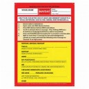 Emergency VHF Mayday Card