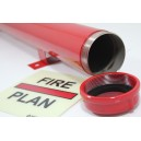 SOLAS Large Fire Plan Holder Stainless Steel
