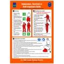 ISM Immersion Survival Suit Poster Vinyl