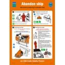 ISM Abandon Ship Poster Vinyl