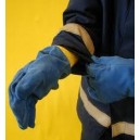 MED Firefighter Leather Gloves