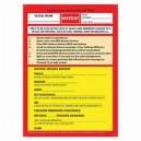 Emergency VHF Mayday Card